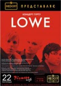 Концерт групи LOWE в Picasso!