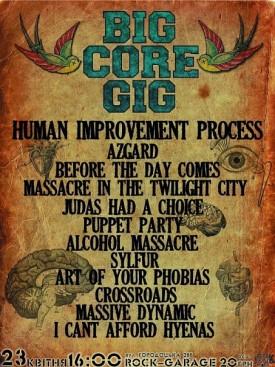 "23.04 ""Rock-Garage"": Big CORE Gig"