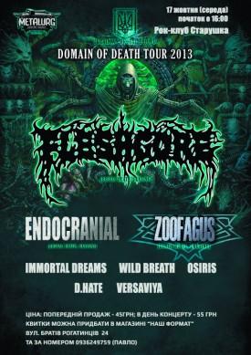 DOMAIN OF DEATH TOUR 2013
