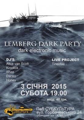 3 січня Lemberg Dark Party Vol.1