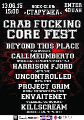 Crab Fucking Core Fest
