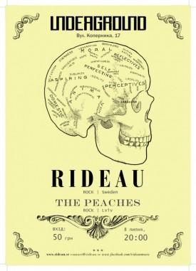 RIDEAU (Sweden) | The Peaches(Lviv)