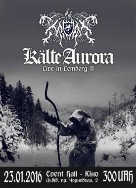 Kroda: Kalte Aurora - Live in Lemberg II