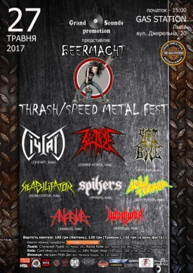 Beermacht - Thrash/Speed metal fest!
